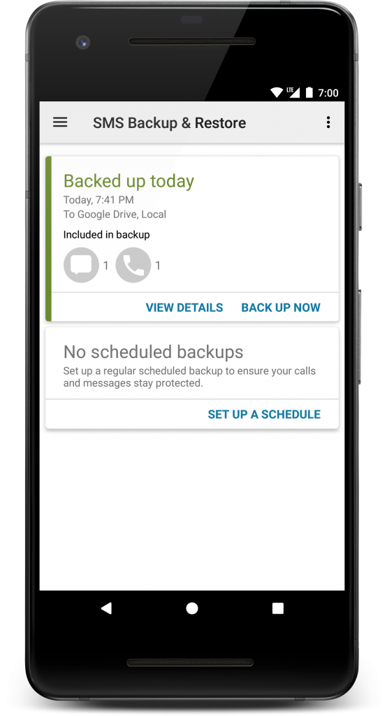 SMS Backup & Restore – SyncTech